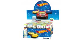 BOLLE DI SAPONE 60ml HOT WHEELS x36pz