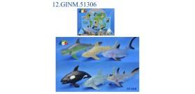 DISPLAY ANIMALI MARINI ASS.26cm x18 ®