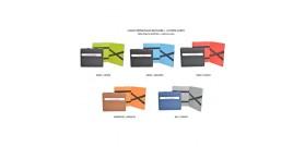 PORTAFOGLIO CLASS MAGICO + PORTA CARD x6 BICOLORE COL.ASS.x1