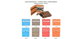 PORTAFOGLIO CLASS MAGICO+PORTACARDx3+P/MONETE T.U.x1