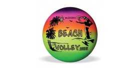 PALLONE VOLLEY BEACH GOMMA °230mm RAINBOW GONFIO ®