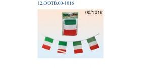 GHIRLANDA BANDIERA ITALIA 3mt 21x14cm BLISTER