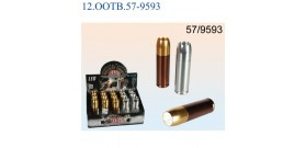 15 TORCE 9LED METALLO BULLET 2col.(x3AAAn.i.)°2,6x9,5cm