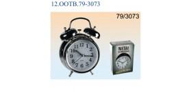 SVEGLIA CROMO MET.C/CAMPANELLOeLUCE 18x12cm(x2AAnon incl.)