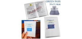 125 PORTA GREEN PASS TRASPARENTE A SACCO