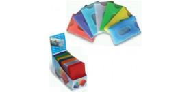 70 PORTA CARD MORBIDO COLORI ASS. 5,7x8,9cm