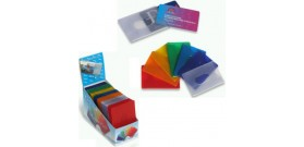 PORTA 2 CARD MORBIDO COLORI ASS.0,40mm x70