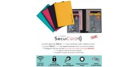 1 PORTA SECURCARD RFID/NFC CARNET SPIGA 6 CARD+2 DOCUMENTI