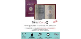 1 PORTA SECURCARD RFID/NFC PASSAPORTO PROMETEO