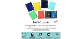 1 PORTA SECURCARD RFID/NFC ALTAIR 8 TASCHE 10x8,5cm