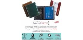1 PORTA SECURCARD RFID/NFC ANTARES 8 TASCHE 10x8,5cm