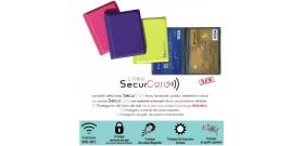 1 PORTA SECURCARD RFID/NFC ALDEBARAN 2 TASCHE 10x8,5cm
