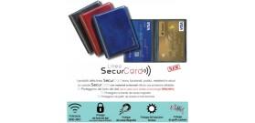 1 PORTA SECURCARD RFID/NFC RIGEL 2 TASCHE 10x8,5cm