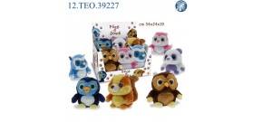 PELOUCHES ANIMALI FUNNY 18cm DISPLAY x6 ®