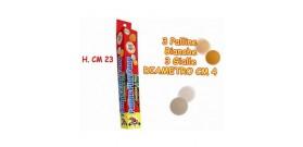 TUBO 6 PALLINE BIANCHE/ARANCIO PING PONG ®