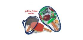 SET 2 RACCHETTE PING PONG C/CUSTODIA ®