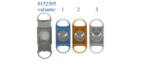 1 TAGLIA SIGARI ACRILICO TRASPARENTE/ARANCIO/BLU °2,8cm