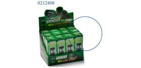 1 GRINDER+PRESSATORE METALLO 6sc.°3x9,5cm CONEY