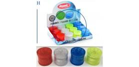 1 GRINDER PLASTICA TONDO 4c. 4sc.°3x3cm ATOMIC