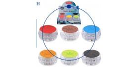 1 GRINDER PLASTICA TONDO 6c.3sc.°4,8x2,5cm SOFT ATOMIC