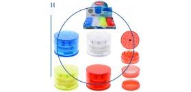 1 GRINDER PLASTICA TONDO 4c.4sc.°5x4cm ATOMIC