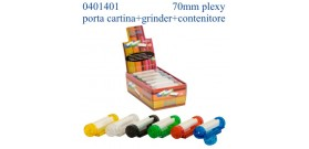 MACCHINETTA CONEY PLEXY xCART.CORTE 70mm+GRI+P/CAR+CONT.