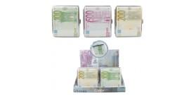 1 PORTA SIGARETTE METALLO EURO 85MM 2lati x18sig.