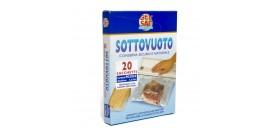 GEL SAC 20 SACCHI SOTTOVUOTO GOFFRATA 20x30cm 1,5lt