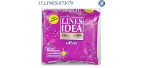 LINES IDEA ULTRA IPO FLUSSI ABBONDANTI x8 03140