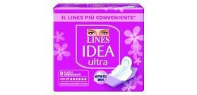 LINES IDEA ULTRA ALI FLUSSO ABBOND.x8 40161