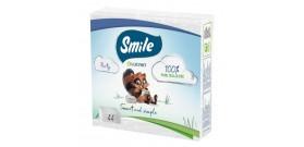 LUCART SMILE TOVAGLIOLI CARTA 44pz 33x33cm 2veli BIANCO