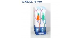 ORAL-B SPAZZOLINO CLASSIC CARE 1-2-3 MEDIO