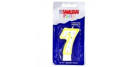 CANDELA COMPLEANNO SAMURAI n.7