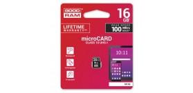 MICRO SDHC UHS-I 16GB CLASSE 10 GOODRAM©