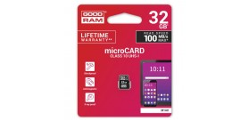 MICRO SDHC UHS-I 32GB CLASSE 10 GOODRAM©