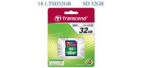SD HC 32GB CLASSE 4 TRANSCEND
