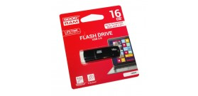 USB 3.0 FLASH DRIVE 16GB BLACK GOODRAM©