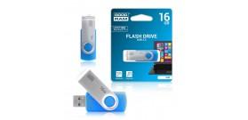 USB 2.0 FLASH DRIVE 16GB BLUE) GOODRAM©