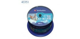 50 CD-R VERBATIM IN CAMPANA 700MB 80min.52x