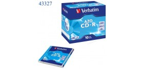 1 CD-R VERBATIM 700MB 52x JEWEL CASE