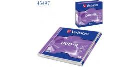 1 DVD+R VERBATIM 4.7GB 16x 43497/6