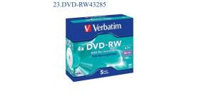 1 DVD-RW VERBATIM 4.7GB 4x J.C.