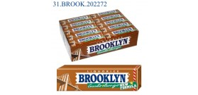 BROOKLYN LIQUIRIZIA x9 LASTRINA 20pz