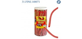 FINI CANNUCCIA GOMMOSA FRAGOLA 20cm 50pz ®