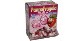 FINI PANNA FRAGOLA BUBBLE GUM LIQUID 200pz