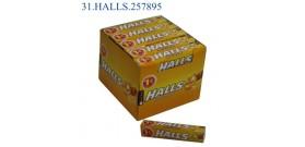 HALLS M.STICK MIELE/LIMONE €1 32gr 20pz