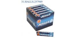 HALLS M.STICK ORIGINAL €1 32gr 20pz