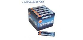 HALLS M.STICK ORIGINAL S/Z €1 32gr 20pz