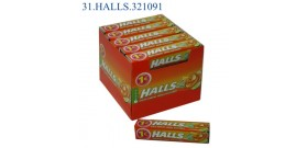 HALLS M.STICK VITA-C GUSTO AGRUMI €1 32gr 20pz
