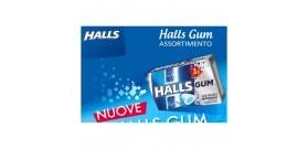 HALLS GUM ASTUCCINO ICERUSH PEPPERMINT S/Z E1 BLU 18gr 16pz